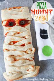 pizza mummy braid yummy healthy easy