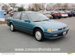 1991 honda accord 1991 hshire green metallic honda accord ex sedan 24387415