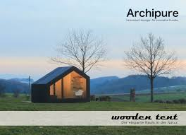 wooden tent archipure