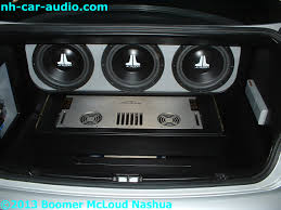 custom bmw 3 series bmw 3 series custom motorized amplifier rack boomer nashua