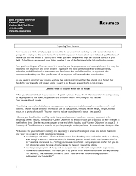 Free Online Resume Builder Career Builder Resume Template Free Resume Example And Writing