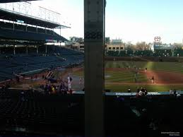 Chicago Cubs Seat Map by Wrigley Field Section 228 Chicago Cubs Rateyourseats Com