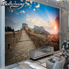 Wall Mural Sunrise In A Forest Wall Paper Self Adhesive Online Buy Wholesale Sunrise Wallpapers From China Sunrise