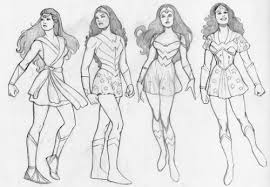 jms wonder woman concept art and tarzan production sketch u2013 a