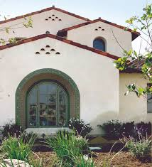 santa barbara style homes exterior 7 272 square foot spanish colonial custom home boasts