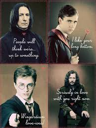Harry Potter Valentines Meme - love harry potter valentines day card meme also inappropriate