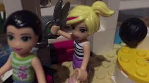 lego friends emma gets a haircut at heart lake city hair salon