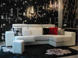 sofas en blanco amazoncom polaris white leather sectional sofa