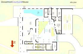 center courtyard house plans courtyard house plans 61custom contemporary modern beauteous