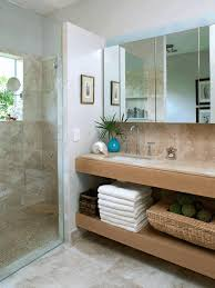 idea for bathroom decor rectangular wall mounted glass mirror