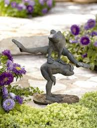 wind in the willows set of 4 bronze garden ornaments buy now at