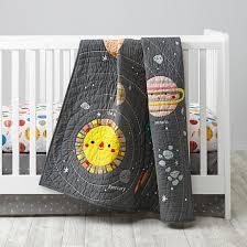 Rocket Ship Crib Bedding Artist Collection Outer Space Nursery Space