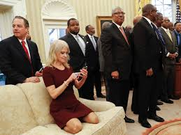 kellyanne conway oval office couch photo sparks outrage business