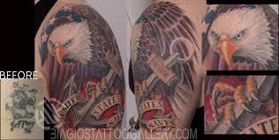 Ripped American Flag Tattoo Biagio U0027s Tattoo Gallery Ethnic Flag Tattoos Page 1