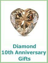 traditional 10th anniversary gift wedding and anniversary gemstones 10th anniversary is diamonds