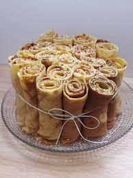 la cuisine d hervé gâteau de crêpes original hervé cuisine chez cathytutu