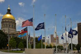 Federal Flag Half Mast Georgia Politics Campaigns And Elections For July 23 2015