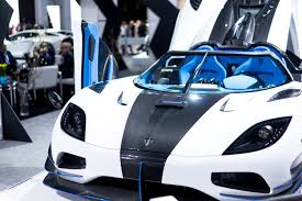 koenigsegg car blue new york 2017 koenigsegg agera rs1 gtspirit