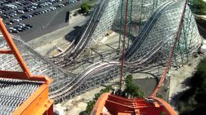 Goliath Six Flags Magic Mountain Goliath Hd Frontrow Pov Six Flags Magic Mountain Youtube