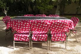 folding chair cover pink white jumbo polka dot folding chair covers
