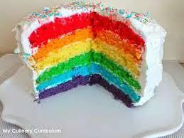 hervé cuisine rainbow cake recettes de rainbow cake