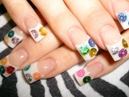 picture 6 of 11 white french tip acrylic nail designs photo