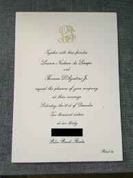 see luann de lesseps u0027 chic black tie wedding invite