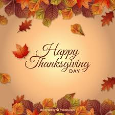 thanksgiving background vector free