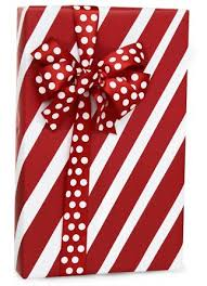 cheap wrapping paper rolls white peppermint stripe christmas gift wrap