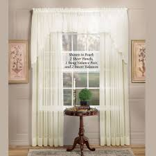 emelia sheer swag valances and window treatments