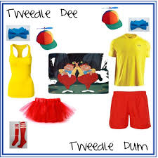 Tweedle Dee Tweedle Dum Halloween Costumes 248 Halloween Images Halloween Ideas Costume