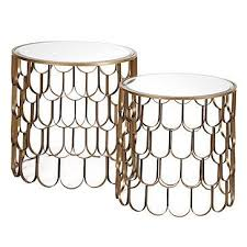 end table set of 2 end tables set of 2 z gallerie