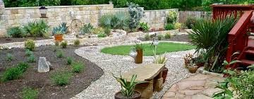 drought landscape design ranch style house with beautiful drought