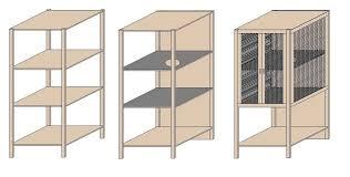 kleiderschrank selber bauen mit holzregalen käfige selber bauen für hamster www selber bauen de