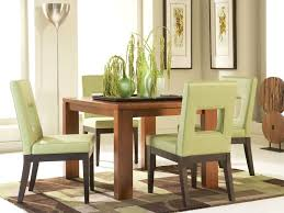 bainbridge square dining table with sage chairs cort com