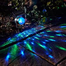 night garden solar lights 2 x smart garden solar carnival projector moving colour changing
