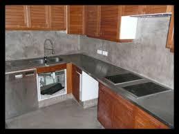 cuisine en béton ciré beton cire sur carrelage de cuisine 52482 carrelage idées