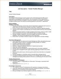 job descriptions format samples and job description template