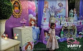 sofia the birthday party sofia party theme decoration ideas in pakistan