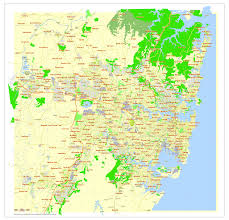 Map Of Oz Sydney Wikipedia