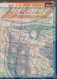 World Map 1975 by Melway Street Directory Of Greater Melbourne 1975