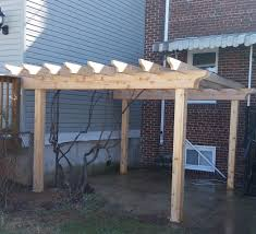 How Much Is A Pergola by Wood Fences Expert Fence In Alexandria Virginia