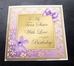 Twlin Sis Birthday Card For My Sister U2013 Gangcraft Net