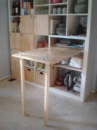 Kitchen Table Desk by 30 Space Saving Folding Table Design Ideas For Functional Small Rooms