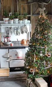 finest natural christmas tree decorations in bdcaaccfccbfa flocked