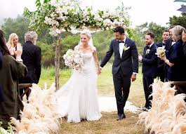 wedding dress cast empire cast attends kaitlin doubleday s wedding photos