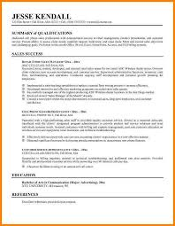 summary in resume examples resume summary statement examples and