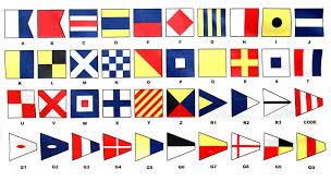 Lima Flag Nautical Alphabet