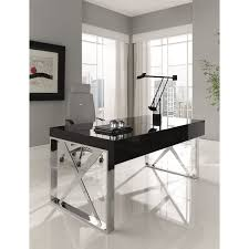 Modern Desk With Drawers Amboan Event Office Desk Modern Desk With High Gloss Wood