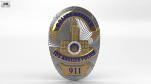 360 view of police badge 3d model hum3d store